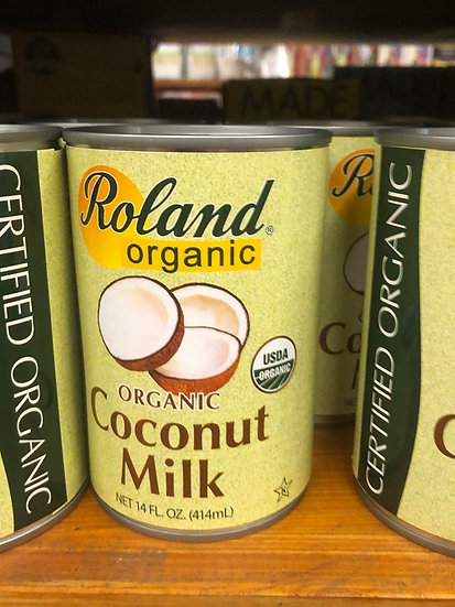 Roland USDA Organic Coconut Milk (414ml)