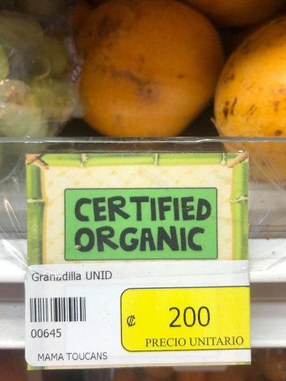 Organic Granadillia/Passionfruit (1)