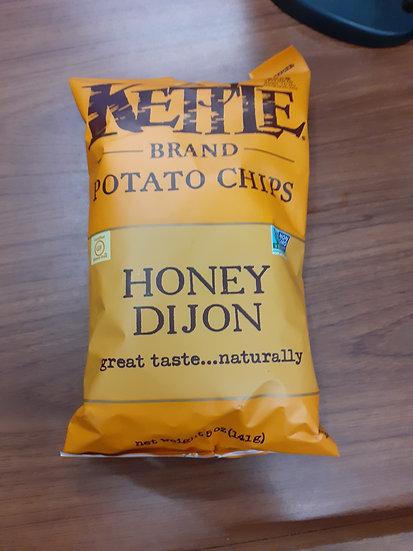 Kettle honey dijon 142