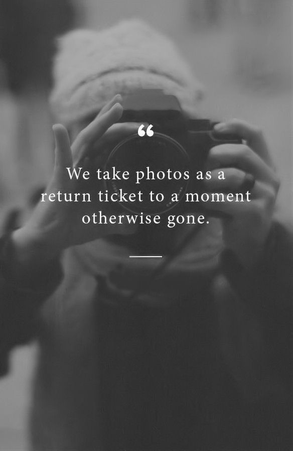 Why it's so important to be in the photos!