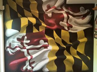 Fresh Paint: Maryland Flag Art