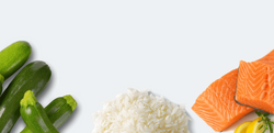 SAL-grocery-veg-rice-salmon