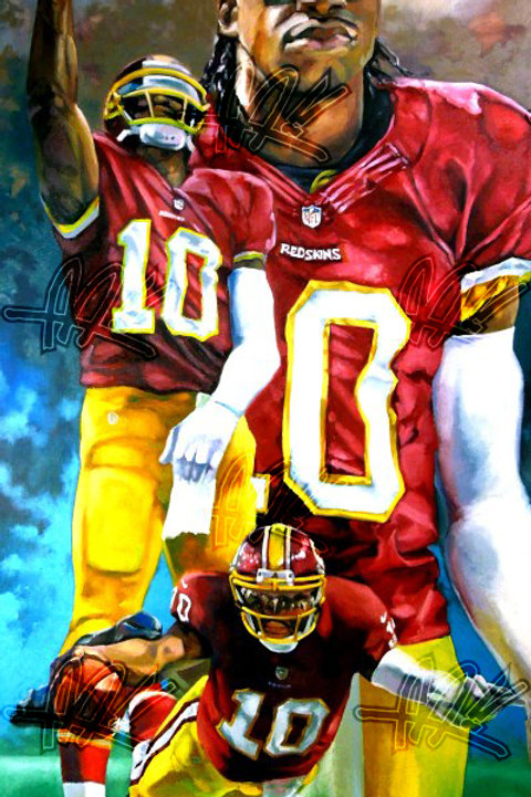 """""""The Rise of RGIII"""" Limited Edition Print"""