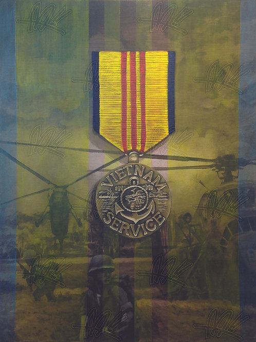"""Vietnam Service"" Limited Ed. Print"