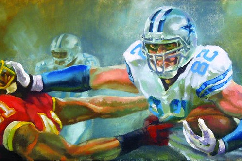Jason Witten Limited Edition Print