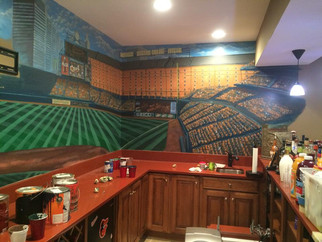 Fresh Paint: Mural of Oriole Park at Camden Yards
