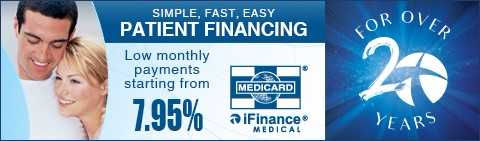 Flyer for low monthly payment starting from 7.95% financing program