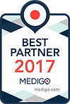 Best Partner 2017 MEDIGO logo