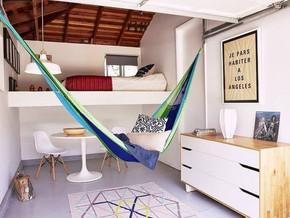 4 most popular ways to install an Indoor hammock
