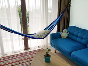 10 ideas for indoor hammock use