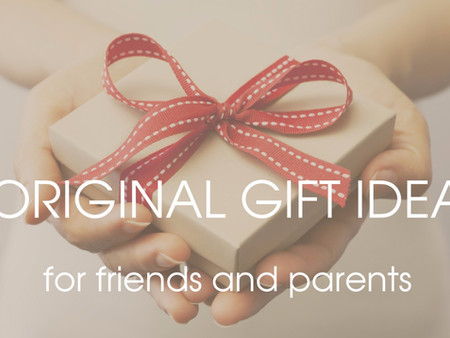 Original gift idea for friends and parents