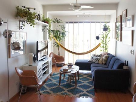 Стильные идеи декора гамаком жилых и рабочих помещений