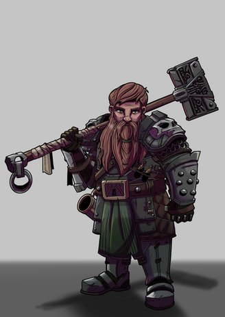 Dwarfy Dwarferson voiced by Gary Eoff and played by Phillip De Leon