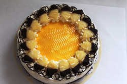 Sahnetorte Ananas