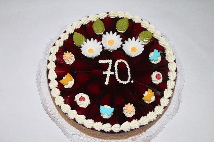 Erdbeertorte Geburtstag