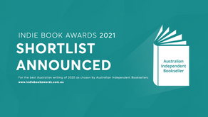 SHORTLIST ANNOUNCED FOR THE 2021 INDIE BOOK AWARDS