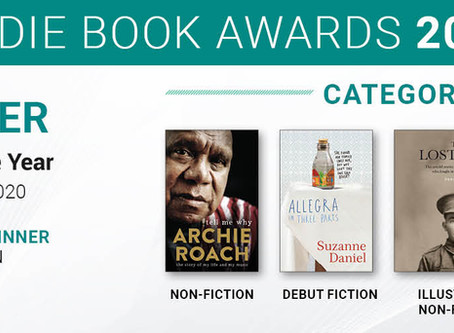 Winners of the 2020 Indie Book Awards Announced