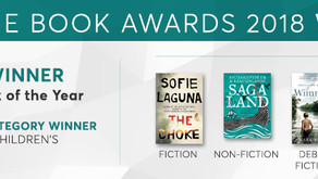 WINNERS OF THE INDIE BOOK AWARDS 2018 ANNOUNCED