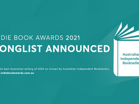 LONGLIST ANNOUNCED FOR THE 2021 INDIE BOOK AWARDS