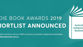 Shortlist Announced for Indie Book Awards 2019