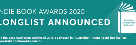LONGLIST ANNOUNCED  FOR THE 2020 INDIE BOOK AWARDS