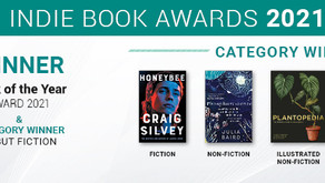 Winners Announced for Indie Book Awards 2021