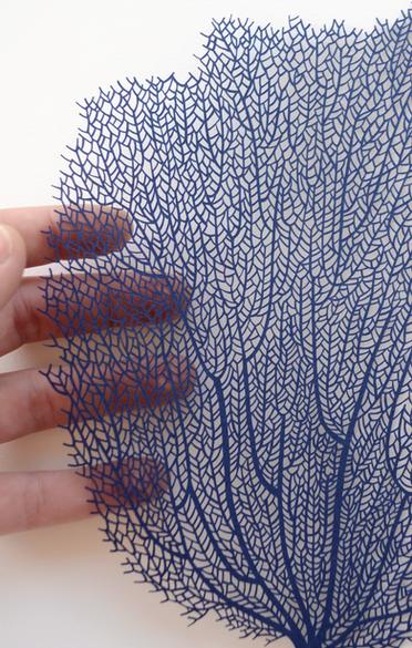 hand cut paper