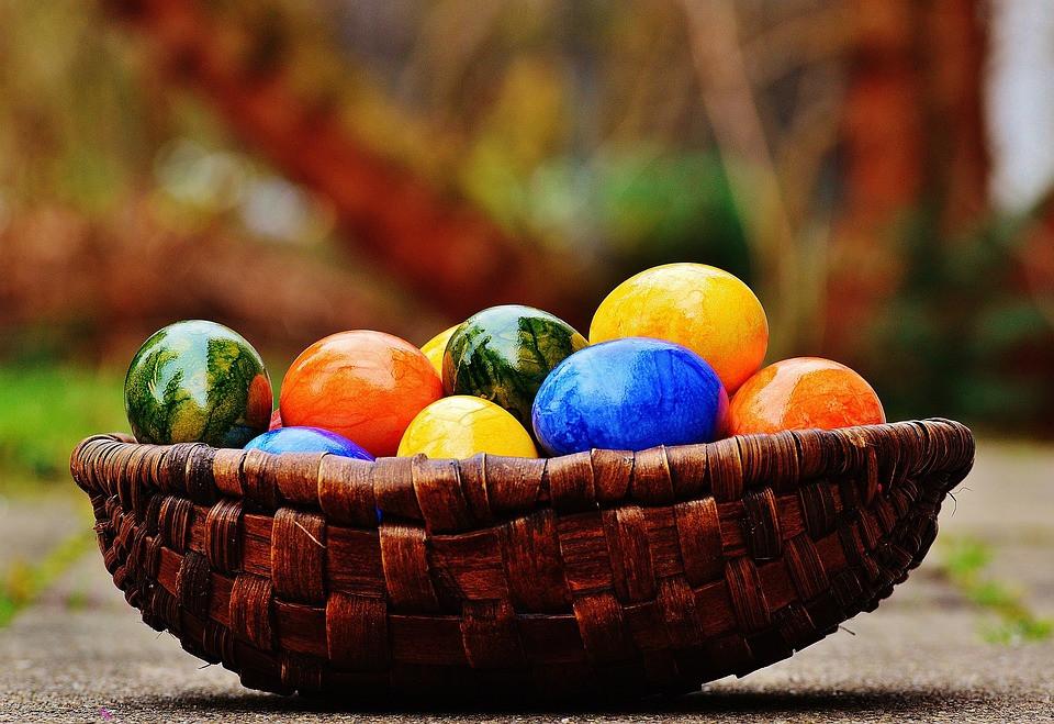 Chasse aux œufs Pâques 2017