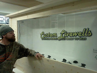 Custom Built Aquarium Livewell Bar