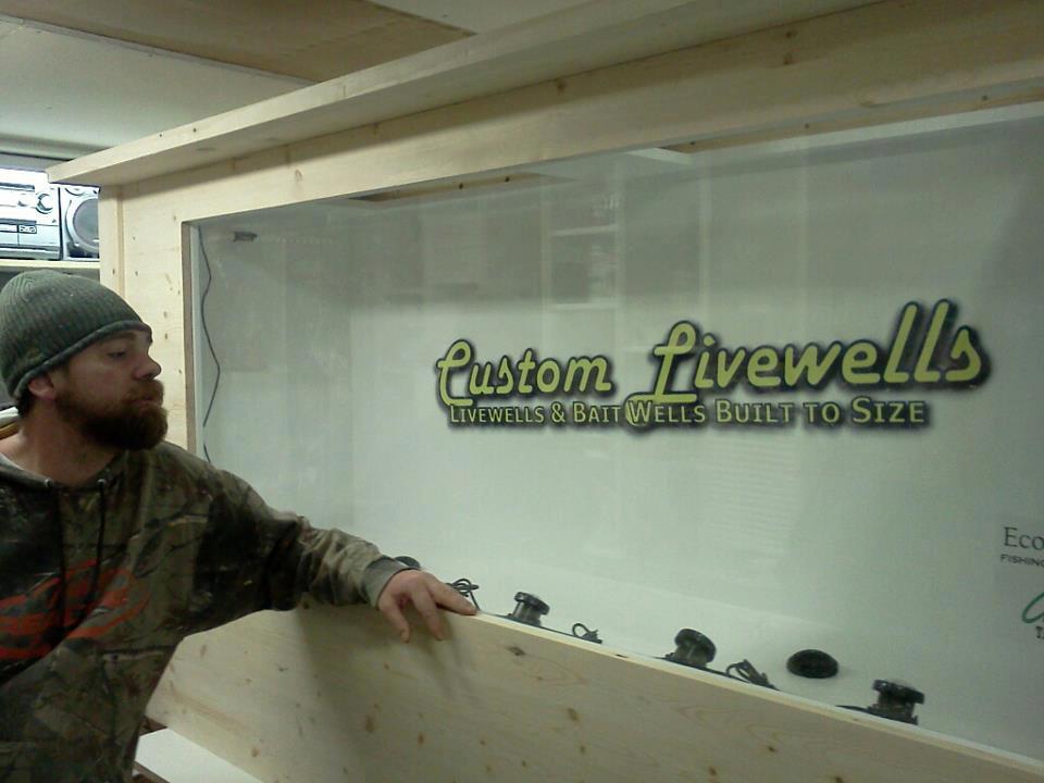Custom Built Livewells & Live Bait Wells for Fishing