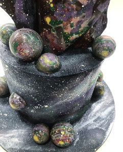 Detail of the Spacial Cake