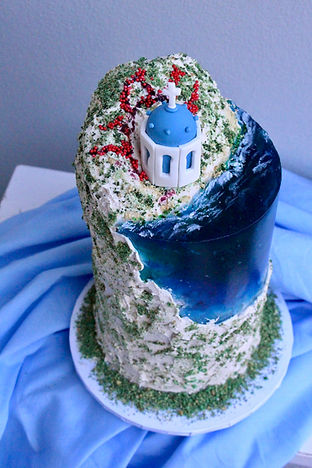 Santorini Cake