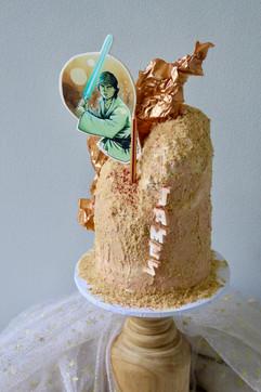Starwars Birthday Cake