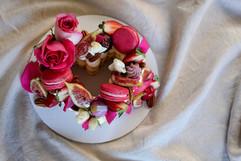 Heart Shaped Naked Cake