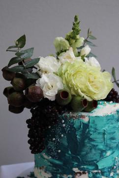 Floral Buttercream Cake Details