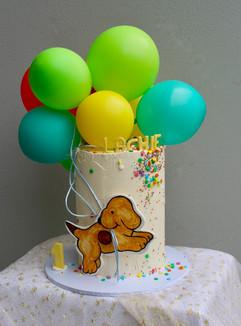 Spot Dog Birthday Cake