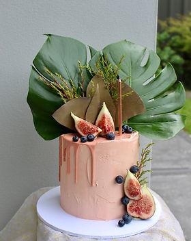 jungle birthday party cake