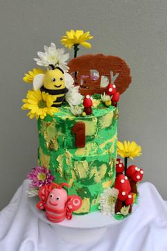 Didi & B Birthday Cake