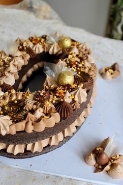 Chocolate Number Birthday Cake