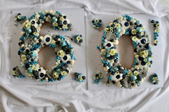 Birthday Number Cake