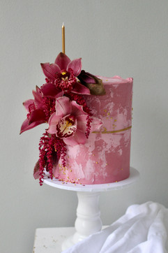 Orchid Birthday Cake.jpeg