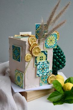 Sicilian Style Cake