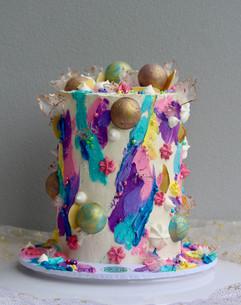 Buttercream Art Cake