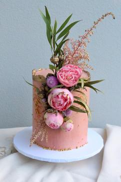 Boho Floral Cake