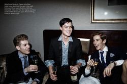 """""""Glamour Party"""" Fashion Editorial"""