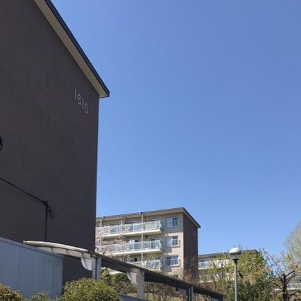 竹山団地16-2ブロックの外断熱工事、サッシ改修の写真。