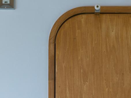 手作りのドア|団地アトリエのこだわり②