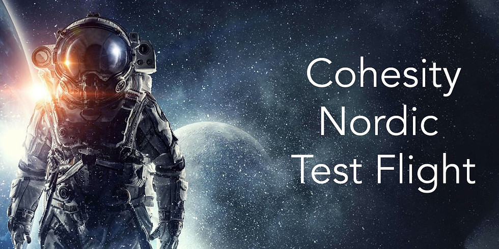 Cohesity Virtual Test Flight Nordics