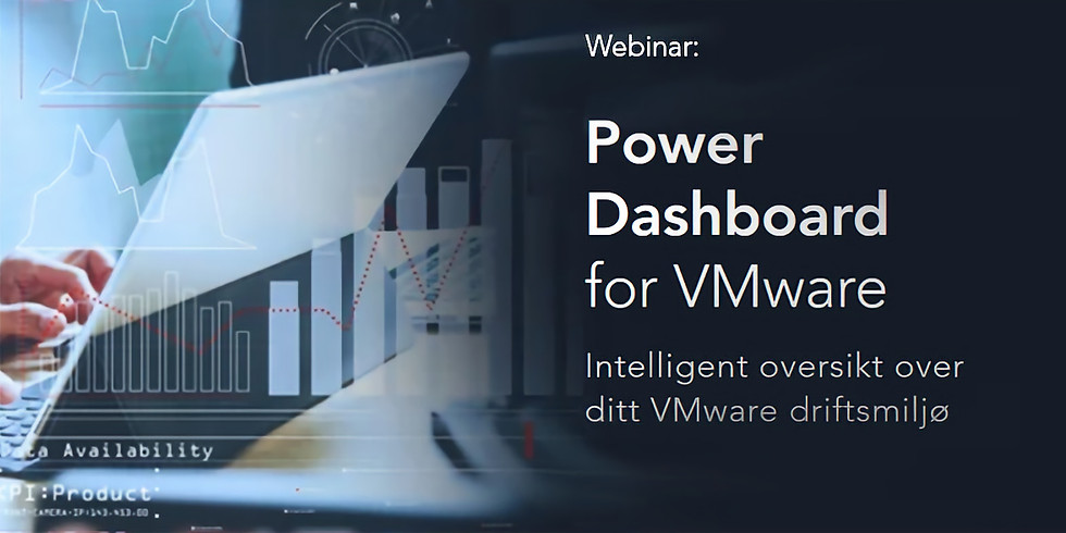 Intelligent oversikt over ditt VMware driftsmiljø med Power BI Dashboard for VMware
