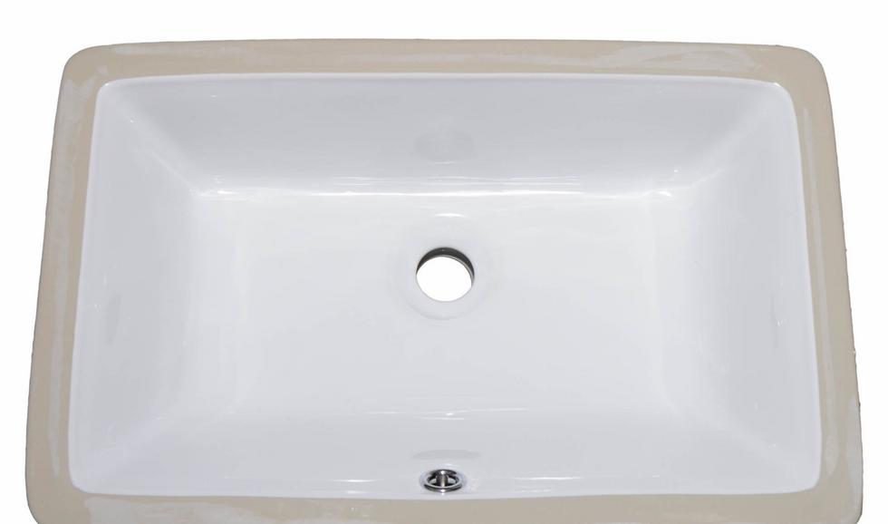 Ceramic Rectangle bathroom sink